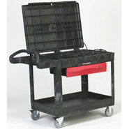 View: Rubbermaid 4535-88 TradeMaster Professional Contractor's Cart